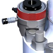 another view of Tentec compact tensioner V-Series
